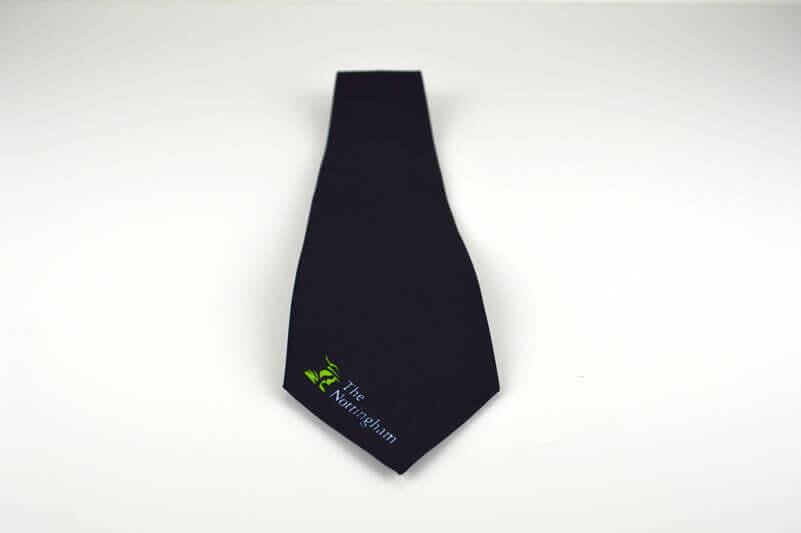 The Nottingham tie: Nottingham building society uniform collection
